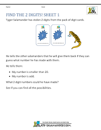 finding all possibilities problem solving find the 2 digits 1