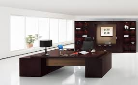 dark brown wooden l office executive table design decorating a small office space with black lamp amazing executive modern secretary office desk
