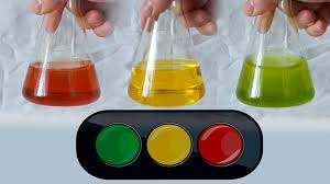 chemical traffic light beautiful chemical experiment