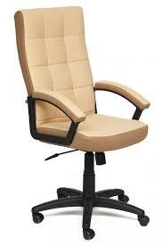<b>Офисное кресло Tetchair Trendy</b> New Иск. кожа бежевая / Ткань ...