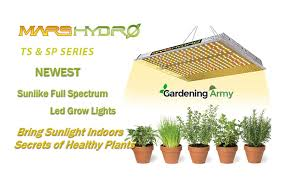 <b>MARS HYDRO TS</b> and SP SERIES LED Grow Light Review