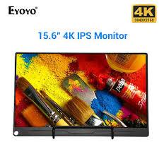 """<b>Eyoyo 15.6</b>"""" <b>Inch</b> 4K HDR IPS <b>Monitor</b> USB-C <b>Screen Display</b> ..."""