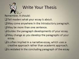thesis statement on pinterest