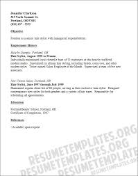 hair stylist resume sample my perfect resume   apptemplate orggallery of  hair stylist resume sample my perfect resume
