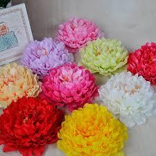 10pcs Artificial <b>Peony</b> Flower Heads DIY Wedding Wreath Home ...