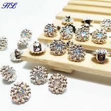 Detail Feedback Questions about <b>HL 60pcs</b> 12mm plating buttons ...