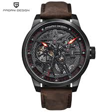 <b>Pagani Design</b> 1625 Fashion Leather Tourbillon Watch Automatic ...
