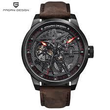 <b>Pagani Design</b> 1625 Fashion Leather Tourbillon Watch Automatic ...