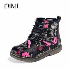 DIMI <b>2019 New</b> Kids <b>Boots</b> Girls Leather <b>Martin Boots</b> Fashion ...