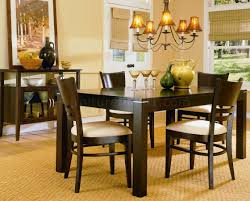 Low Dining Room Sets Espresso Casual Dining Room Set 628