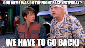 Back to the Future - Imgflip via Relatably.com