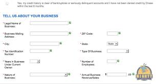 how to fill out a business credit card application even if you chase ink plus biz jpg