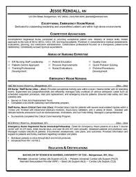Emergency Nurse Resume Objective emergency room nurse resume Source: