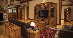 amish handcrafted wood furniture in living room amish wood furniture home