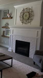 nice contemporary white subway tile ideas corps white subway tile fireplace with craftsman mantel love