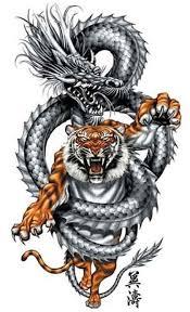 <b>ДРАКОН</b> И ТИГР | <b>Татуировки</b>, Художественные <b>татуировки</b> и ...