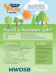 need a summer job cs sjam ca need a summer job