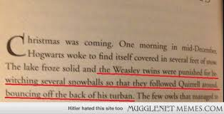 Let's not forget that at one point, the Weasley twins once ... via Relatably.com