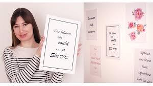 DIY <b>постеры</b> для интерьера, декор комнаты своими руками ...