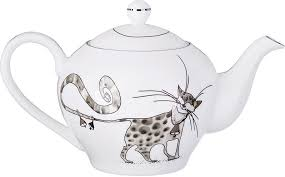 """<b>Чайник заварочный Lefard</b> """"<b>Котики</b>"""", 600 мл 264871, цвет белый ..."""