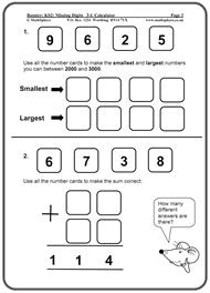 KS2 Maths SATs Revision Program SamplesBoosting from Level 3 to Level 4
