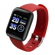 <b>116 Plus Smart</b> Watch Red <b>Smart</b> Watches Sale, Price & Reviews ...
