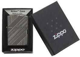 <b>Зажигалка Zippo Armor™ с</b> покрытием High Polish Black Ice ...