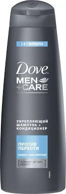 Dove <b>Шампунь</b>-<b>кондиционер</b> для волос Men+Care <b>Против</b> ...
