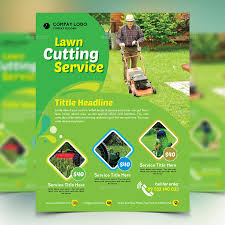 gardener mowing lawn mower flyer by design station graphicriver gardener mowing lawn mower flyer commerce flyers · preview image set 01 preview1 jpg