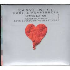 Image result for kanye west 808s and heartbreak album cover