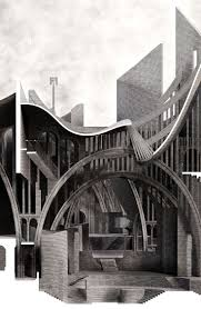 best images about illustrationer st john s 2014 bartlett school of architecture tutors matthew butcher elizabeth dow jonathan hill sited in stewartby on the lower oxford clay belt