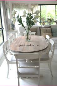 Distressed White Kitchen Table 25 Best Ideas About Dining Table Makeover On Pinterest Refinish