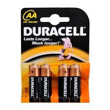 "<b>Набор алкалиновых батареек</b> ""<b>Duracell</b>"", тип AA, 4 шт — купить в ..."