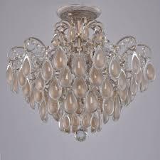 <b>Потолочная люстра Crystal</b> Lux Sevilia PL4 Gold — купить в ...