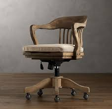 fantastic 1940s bankers chair weathered oak drifted home office chair 495 bedroomcute eames office chair chairs vintage