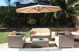 brown wicker outdoor furniture dresses:  piece outdoor wicker patio furniture set rustic light brown