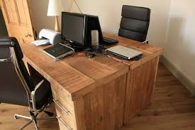 amazing reclaimed wood home office desks recycled things home design decor ideas amazing wood office desk