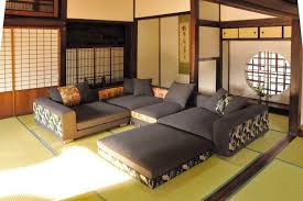 living room mattress: japanese style living room ideas with wooden table and futon mattress and other related images gallery