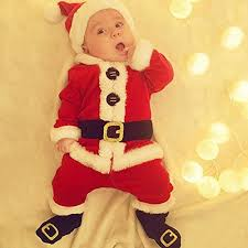 <b>Merry Christmas</b>, <b>4Pcs</b> Infant Baby <b>Santa</b> - Buy Online in Bahamas ...