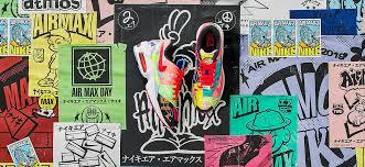 <b>Nike</b> × atmos: яркий коллаж