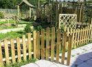 Декоративный забор из дерева своими руками