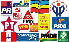 Resultado de imagem para A confusão partidária