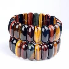 <b>KYSZDL</b> Tiger Eye Love Buddha Bracelets & Bangles Trendy ...