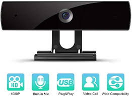 Webcam with Microphone, <b>1080P HD</b> Webcam Streaming <b>Computer</b>