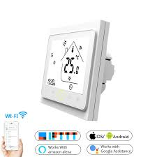 WiFi Smart Touch Thermostat Temperature Controller for Water ...