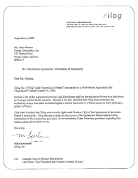 letter of agreement form printable documents distribution agreement