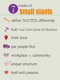 company culture for startups small giant characteristic