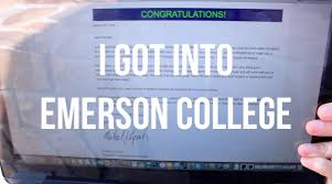 college admissions process vlog emerson college acceptance college admissions process vlog 21 emerson college acceptance scholarship reaction