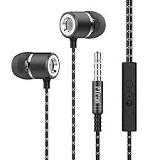 PTron Flux <b>in-Ear Stereo</b> Wired <b>Headphones</b> with Mic: Amazon.in ...
