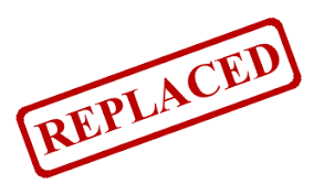 「replaced」の画像検索結果
